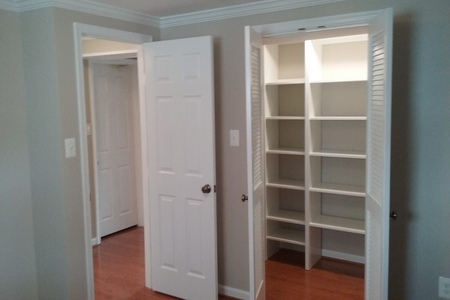 Bedroom Remodel With Customer Closet Alexandria Virginia